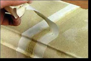 Расход мастики для герметизации швов